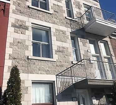 Mur pierre st-marc pierre de calcaire pierre grise de Montreal - Reconstruction mur de pierre naturelle St-Marc, construction et réparation mur de pierre St-Marc