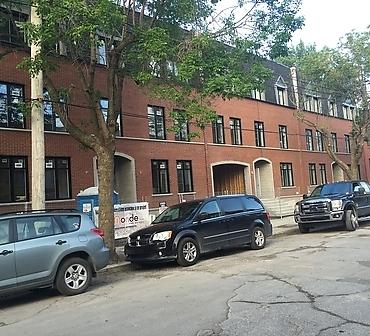 Pose de brique et maconnerie dans le sud ouest de Montreal - Travaux de maçonnerie et pose de brique à Pointe-Saint-Charles, briques Meridian format métrique