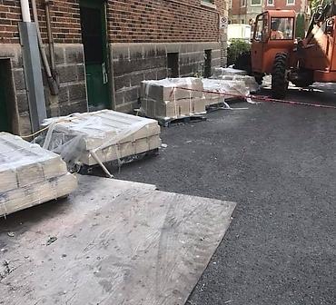 Restauration de batiments patrimoniaux a Outremont - Nous sommes spécialisés en restauration et réparation de bâtiments patrimoniaux en tous genres. Briques, pierres, allèges, etc.
