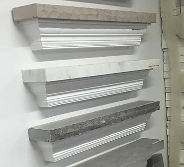 Differents choix d alleges en pierres naturelles beton et marbre - Nous avons plusieurs choix de marques de modèles d'allèges.