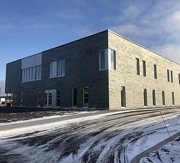 Travaux de pose de brique et maconnerie a Montreal - Pose de brique Pointe-aux-Trembles à Montréal, pose de brique Endicott Manganese Ironspot smoot format norman
