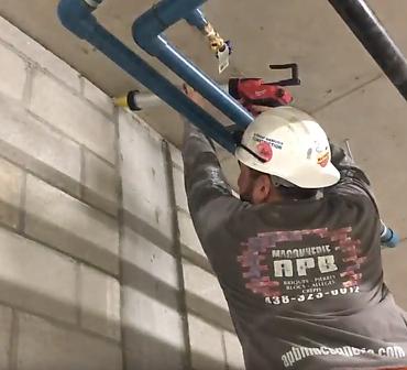 APB Maconnerie Montreal entreprise specialisee en maconnerie - Travaux professionnels de maçonnerie, installation de silicone coupe feu à Montréal.