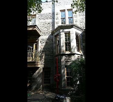Restauration de facade de pierres St-Marc - Projet de restauration de façades de pierres à Montréal.