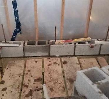 Installation de blocs de beton Montreal et rive-sud de Montreal - Installation de blocs de construction pour cage d'ascenseur, installation solide et durable, pose de bloc de béton Montréal et rive-sud de Montréal, APB Maçonnerie nous sommes les spécialistes